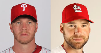 Roy Halladay and Chris Carpenter